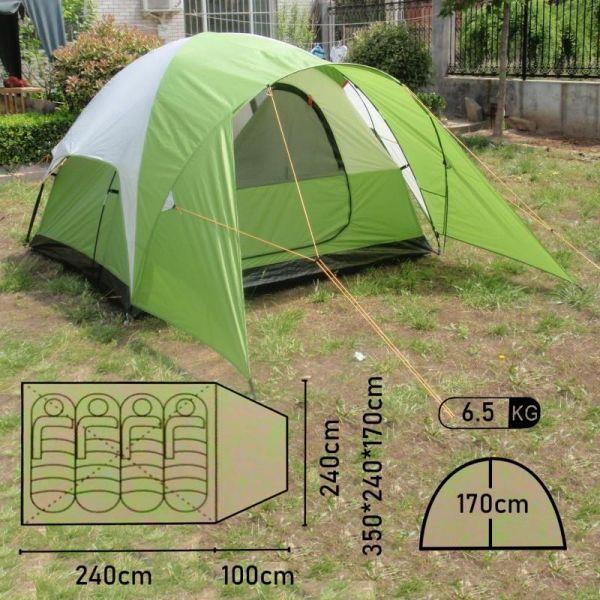 Летняя палатка Mimir Evanston-4 четырёхместная