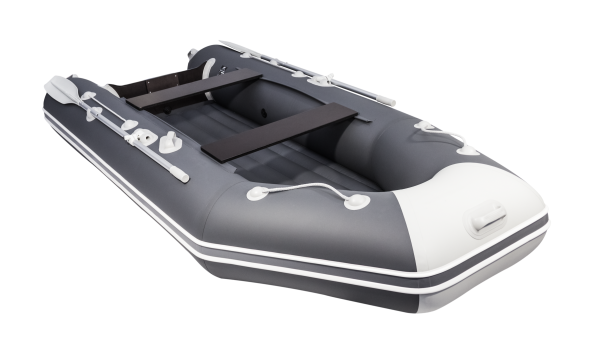 Лодка АКВА 3200 НДНД графит / светло-серый