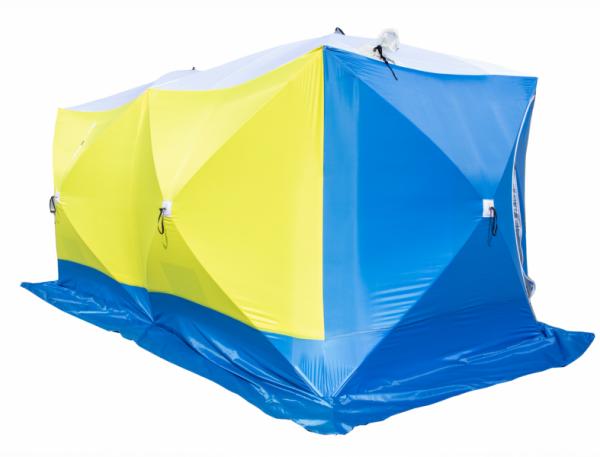 Палатка СТЭК КУБ-3 Дубль трёхслойная