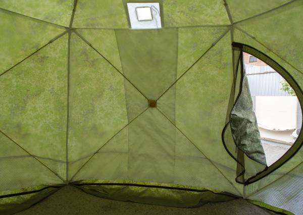 Палатка СТЭК ЧУМ трёхслойная камуфляж (зима-лето)