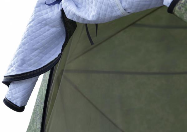 Палатка СТЭК КУБ-3 Дубль трёхслойная камуфляж с москитной сеткой
