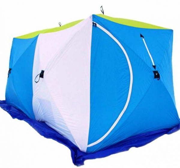 Палатка СТЭК КУБ-2 Дубль трёхслойная дышащая
