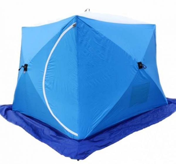Палатка СТЭК КУБ-3 Лонг трёхслойная дышащая