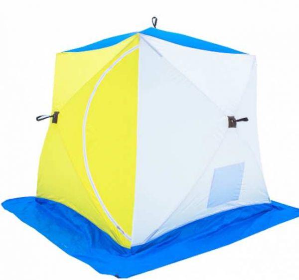 Палатка СТЭК КУБ-2 трёхслойная