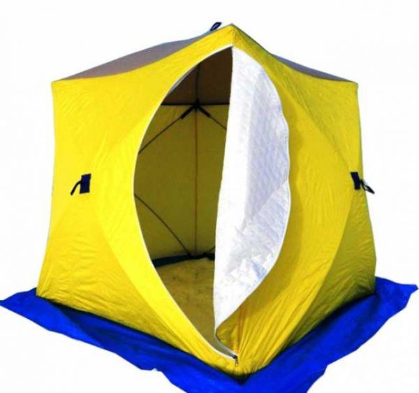 Палатка СТЭК КУБ-3 трёхслойная дышащая